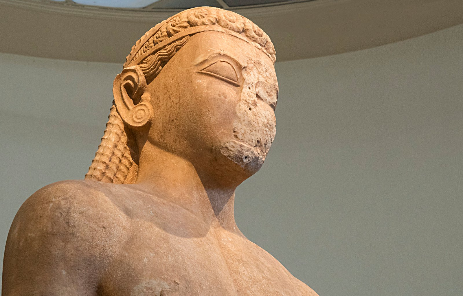 The Kouros of Sounio