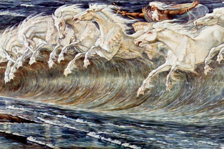 PoseidonOnHorses_Painting_SounioCruise.com