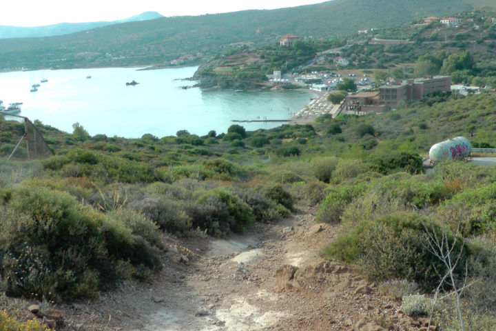 Trek for 10 minutes from the beach to the temple and pick some wild oregano_01_Sounio Cruise