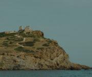 Temple of Poseidon from the sea level_Sounio Cruise