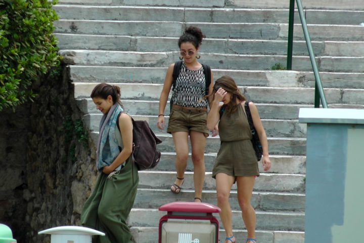 take the stairs down_oposite to 37 Akti Moutsopoulou street_and you will see the yacht_Sounio Cruise